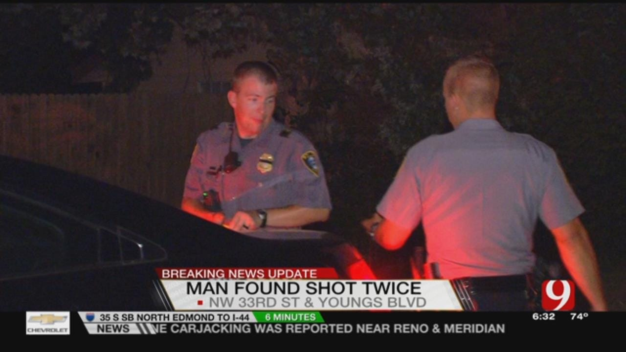 Victim Shot Twice In NE OKC