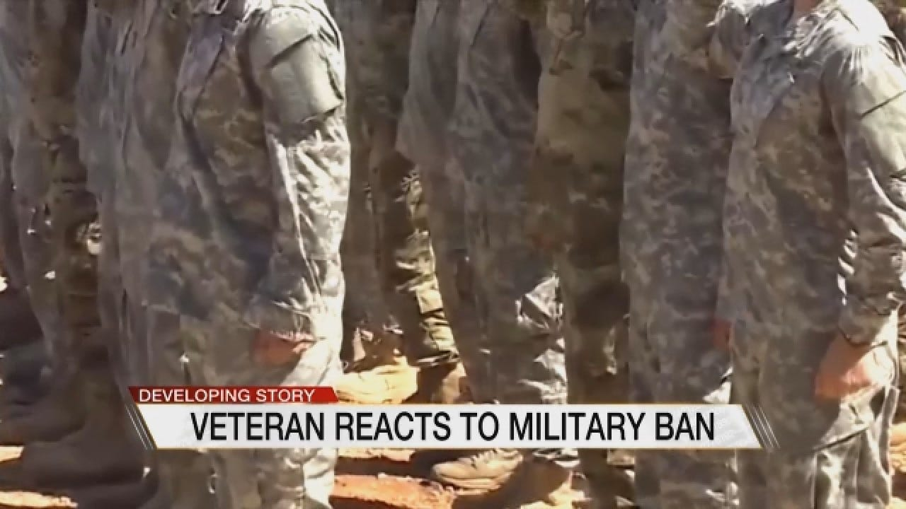 Oklahoma Lawmakers Weigh In On Transgender Military Ban