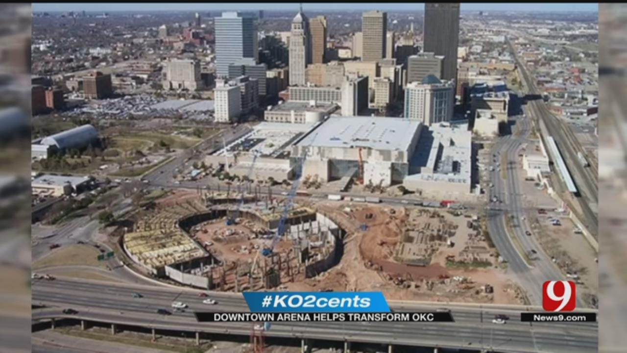 My 2 Cents: Downtown Arena Helped Transform OKC