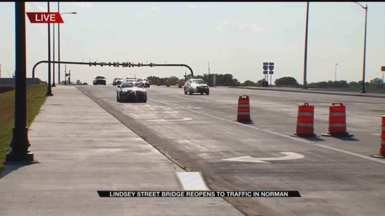 New Lindsey Street Bridge Sparks Hope For Norman Economy