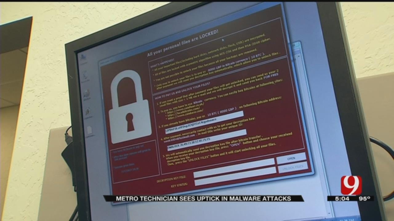 Norman IT Expert Warns Of Ransomware Increase