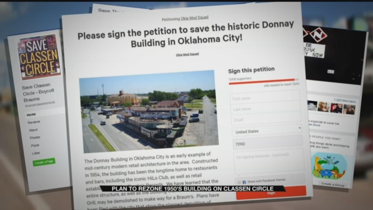 Plans To Rezone Historic Building On Classen Circle