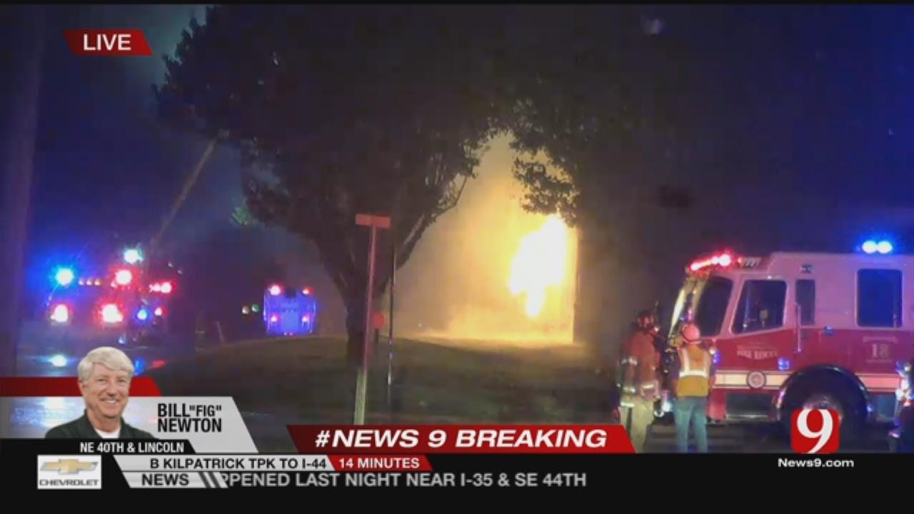 Fire At NE OKC Crematorium