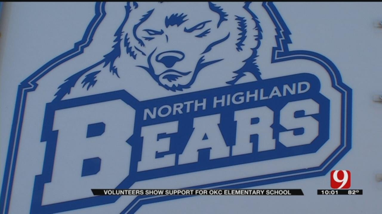 Volunteers Mobilize To Help North Highland Elementary