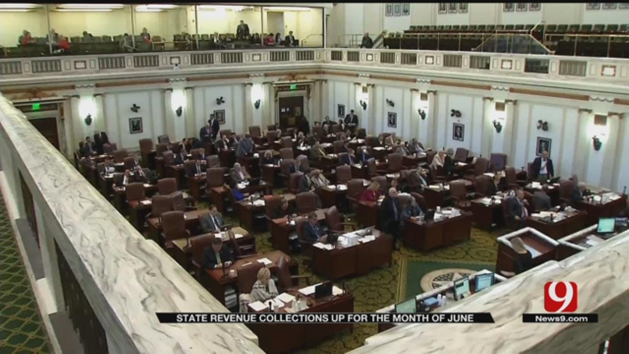 Oklahoma's Economic Outlook Brightens, State Agencies May Get Refund