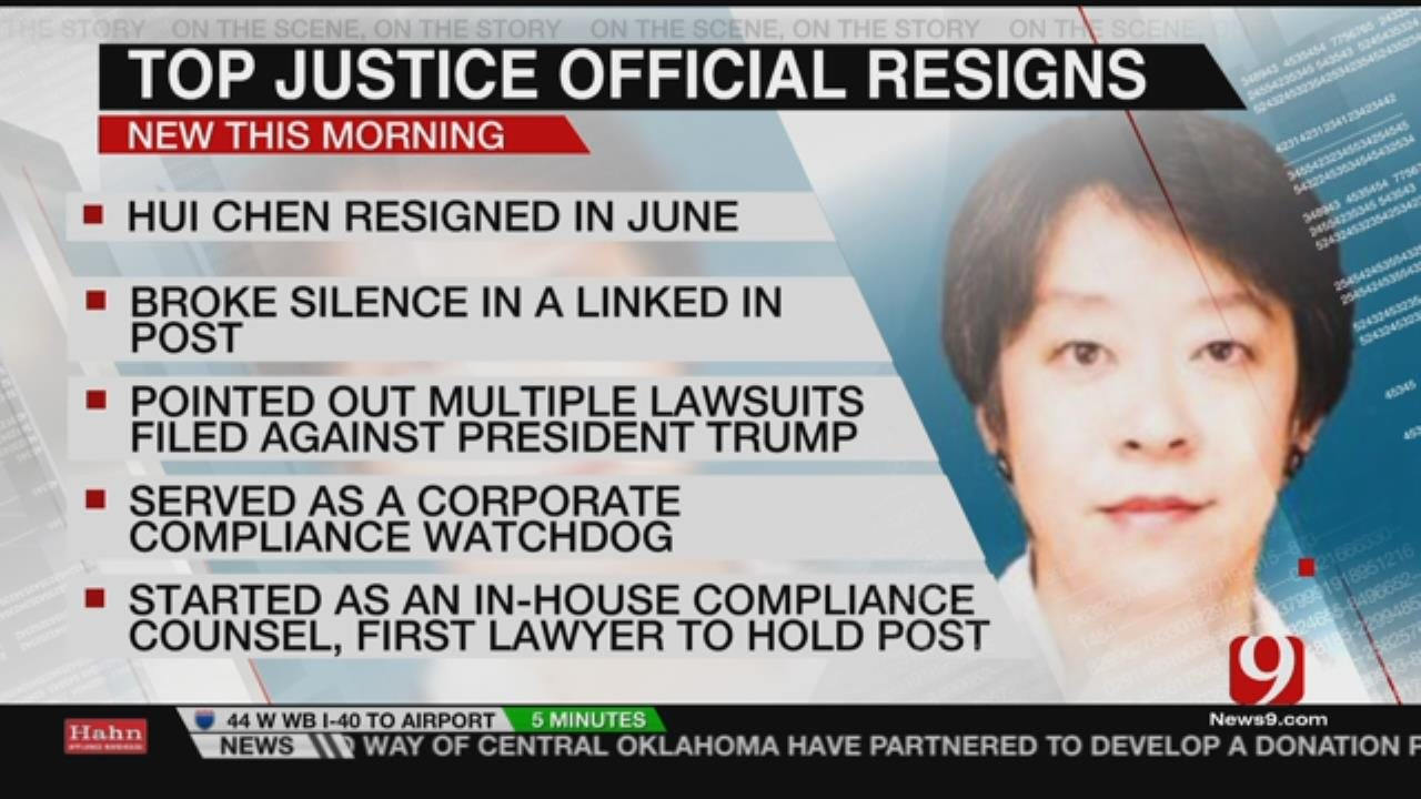 Top DOJ Compliance Officer Resigns Over Trump's Conflicts