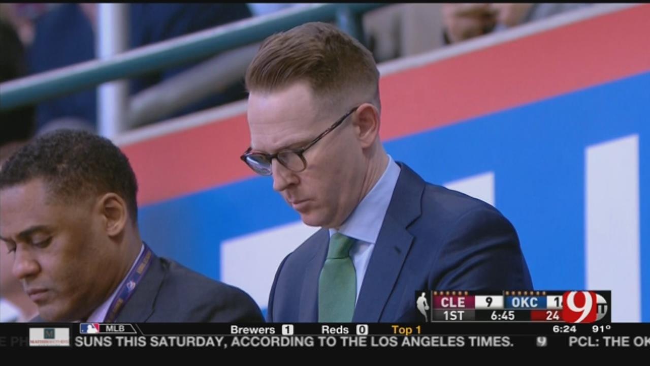 New York Knicks Considering Thunder's Sam Presti To Run Franchise