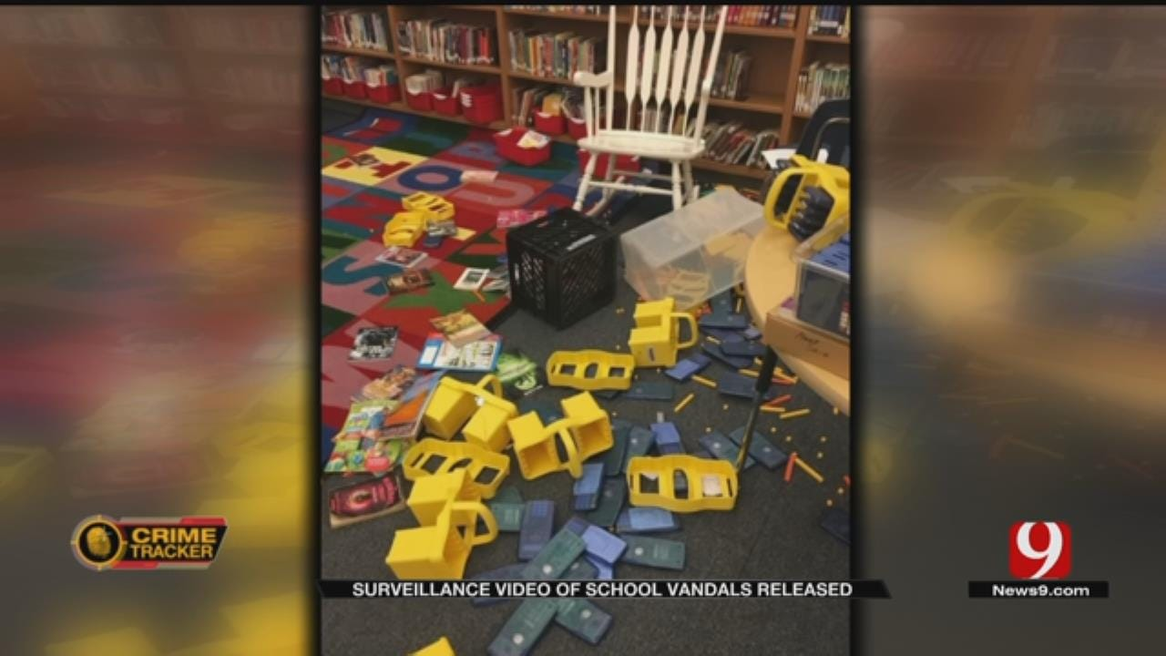 North Highland Elementary Vandals Caught on Video