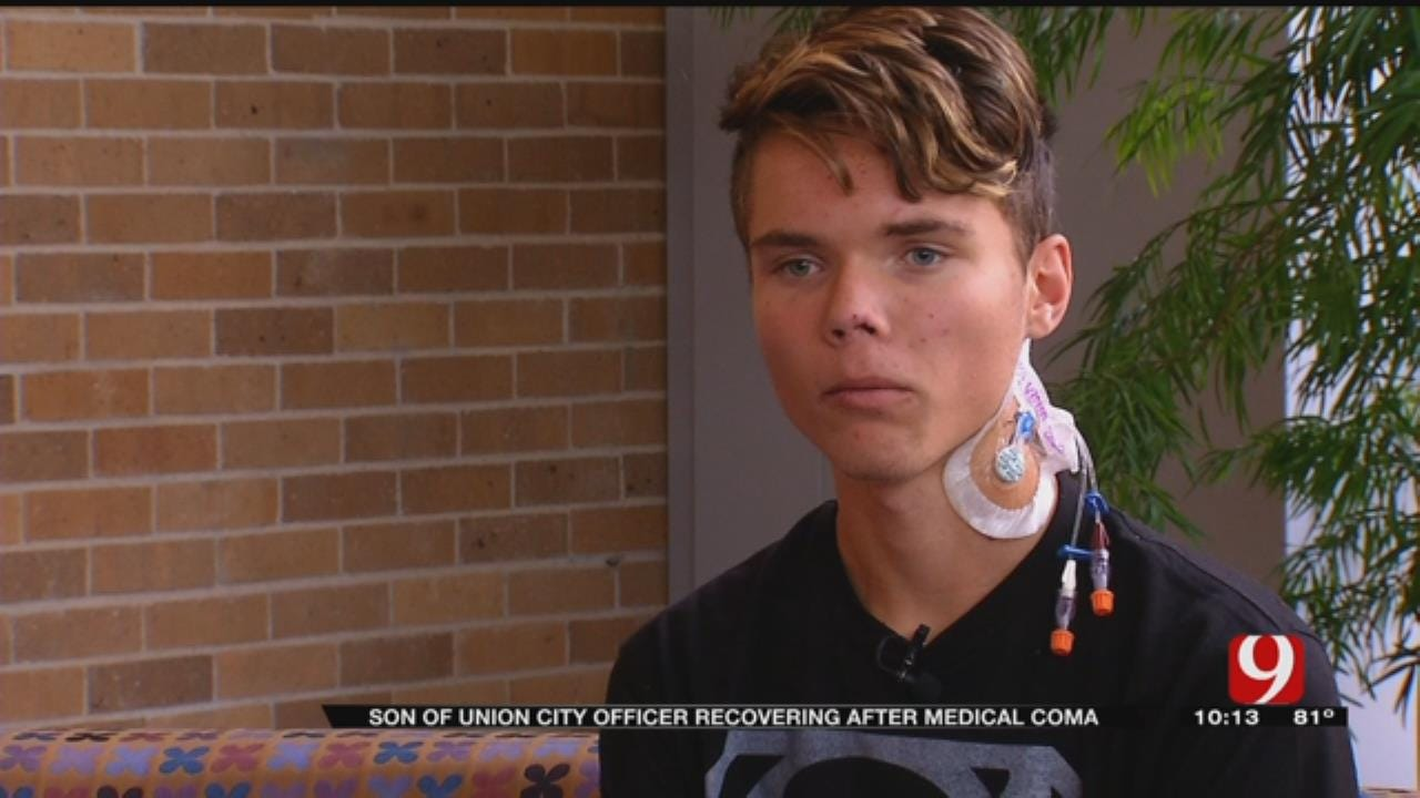 Son Of Union City Officer Recovering After Medical Coma