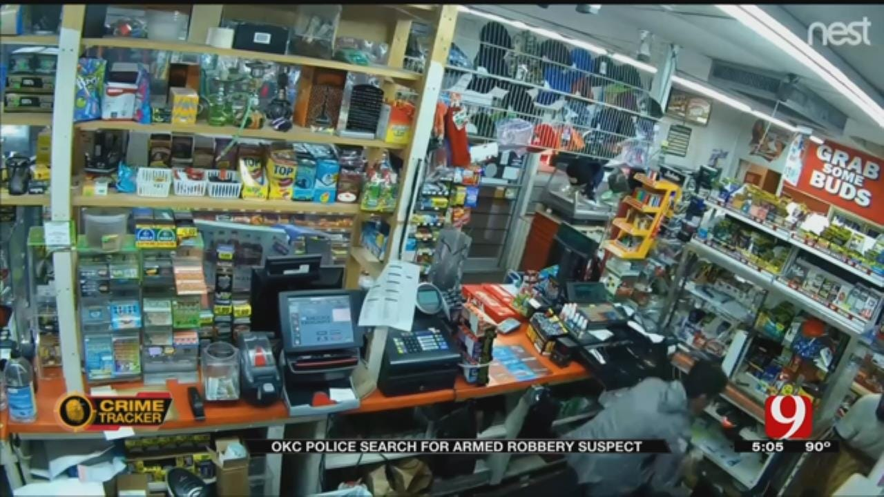 OKC Police Release Video Of Armed Robbery