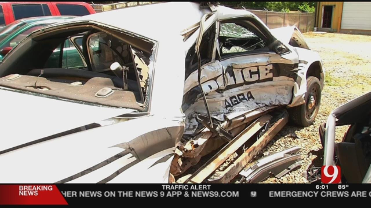 Officer Recovering After Being Hit By Alleged Drunk Driver