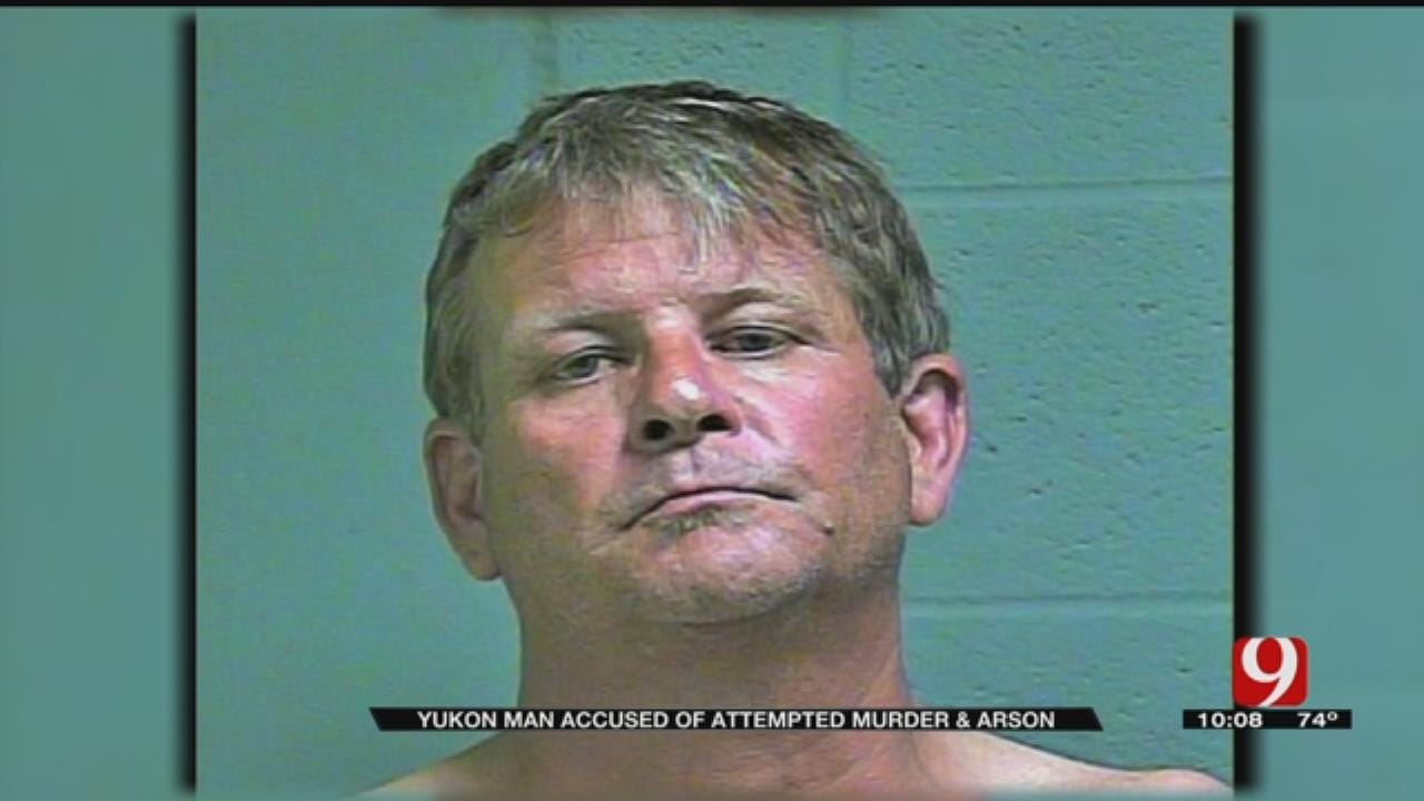 Yukon Man Accused Of Attempted Murder, Arson For Calumet Mobile Home Fire