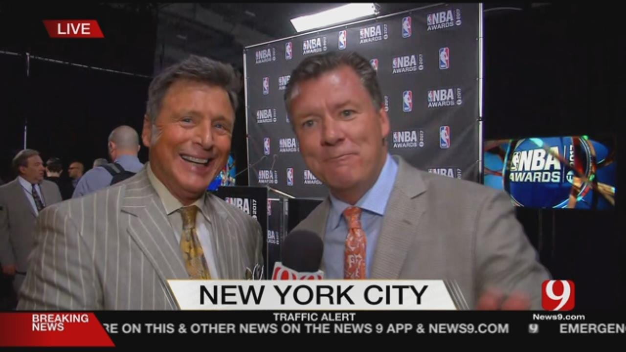 News 9 Is In NYC For NBA Awards