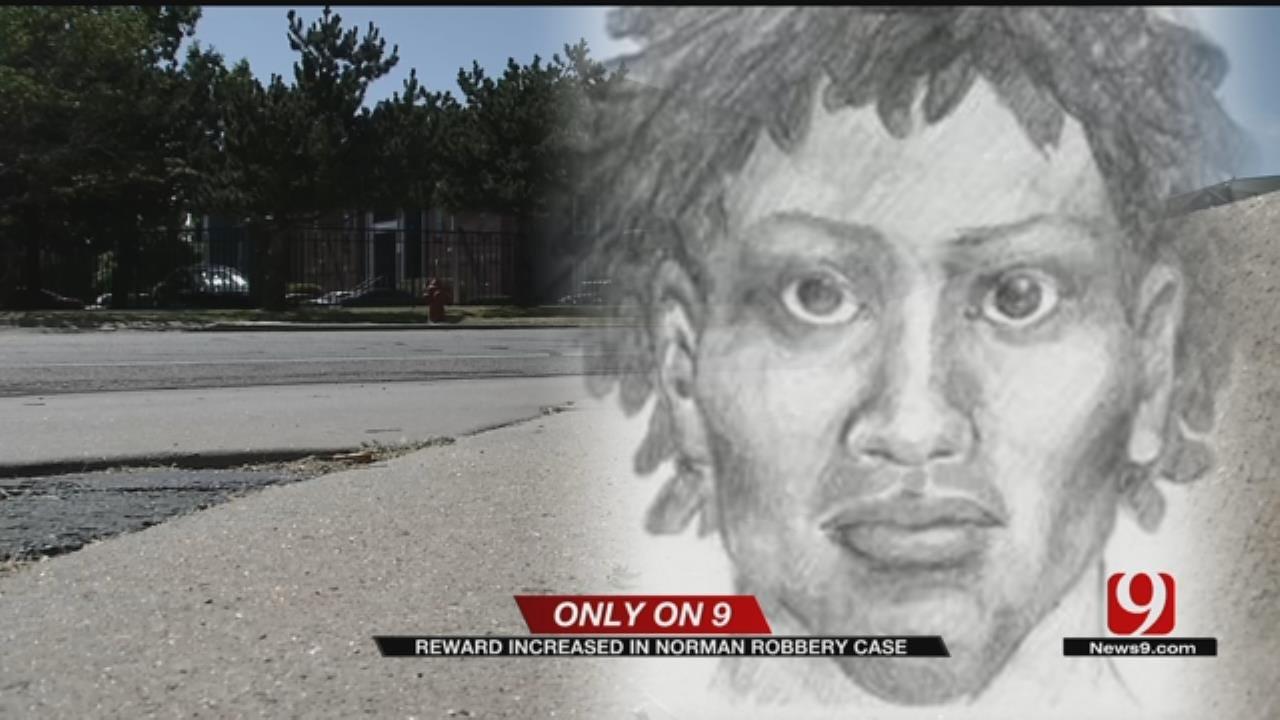 Reward Increased In Norman Robbery