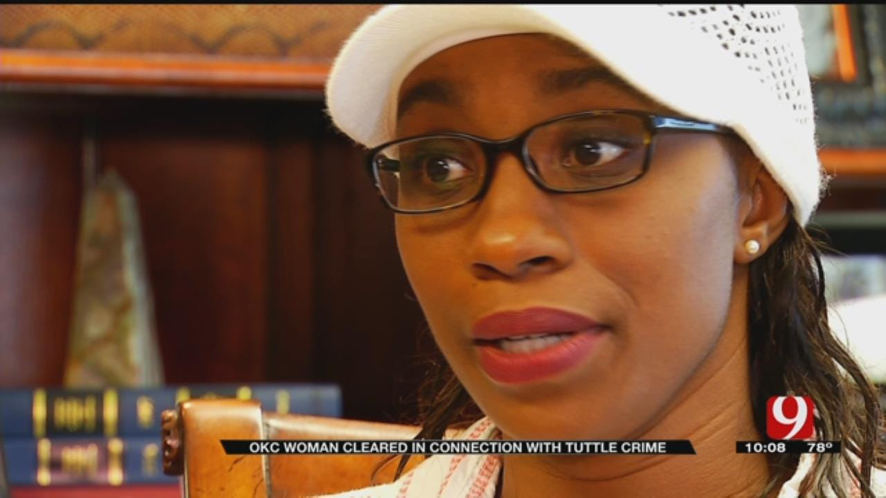 OKC Woman Cleared In Connection With Tuttle Crime