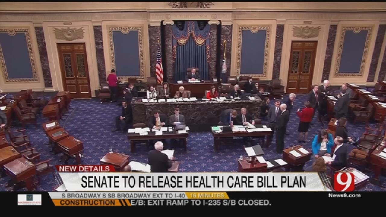 Senators Eager To See Health Care Bill For The First Time