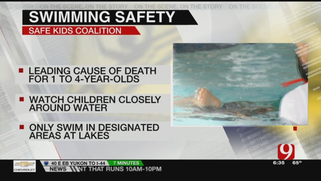 Drowning No. 1 Cause Of Death In Children Ages 1-4