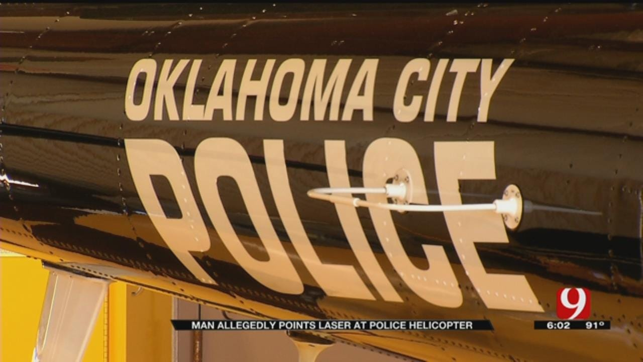 Oklahoma City Teen Arrested For Shining Laser At Police Helicopter