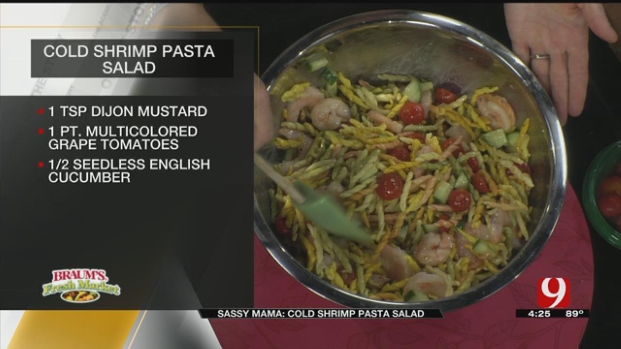 Cold Shrimp Pasta