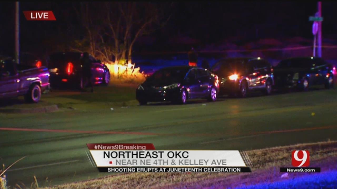Police: 2 Injured In NE OKC Shooting, Hit-And-Run Crash