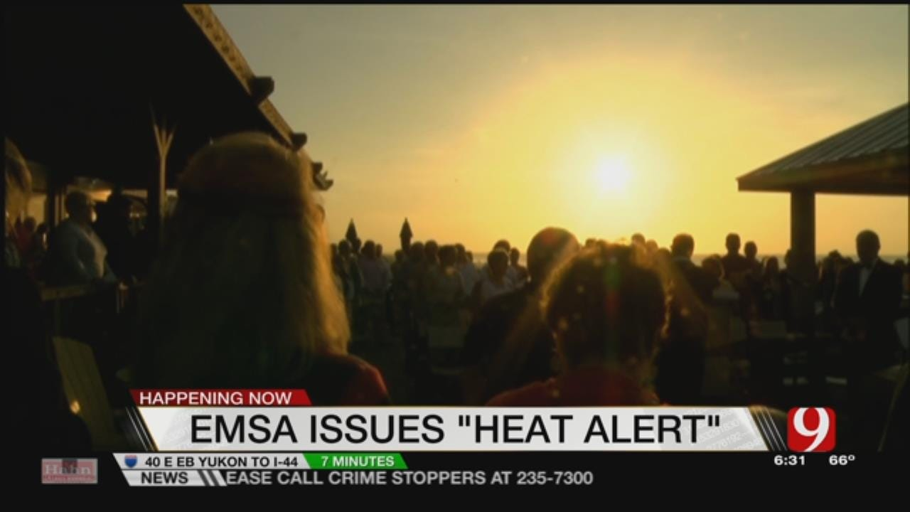 EMSA Issues Medical Heat Alert After Treating 7 People