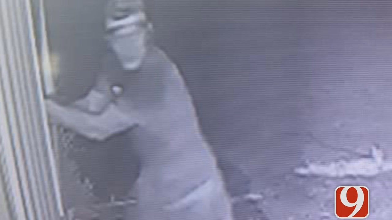 Cameras Capture Thief Breaking Into Old Tecumseh Farm Store