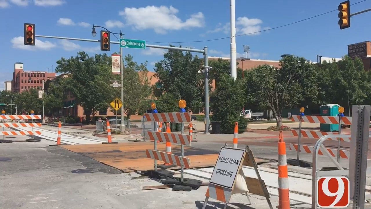 Construction Update For OKC Streetcar Project