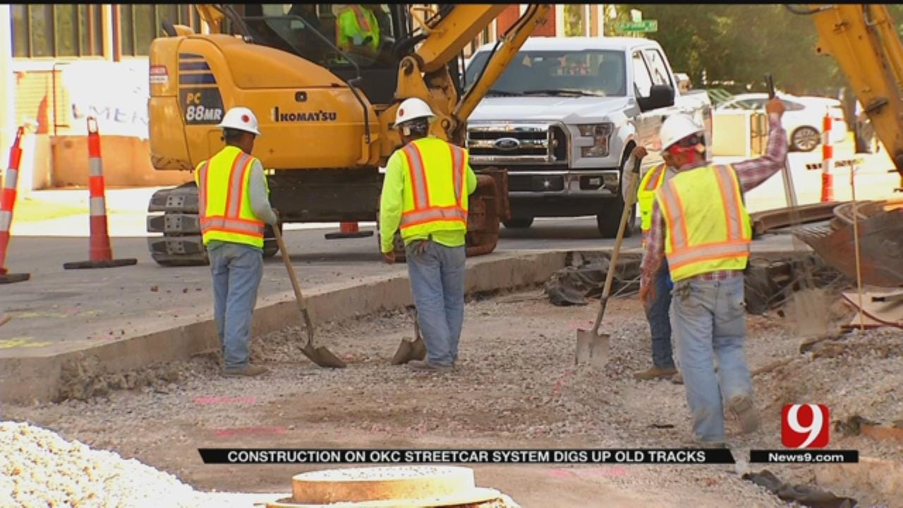 Construction Update On Long-Awaited OKC Streetcar Project