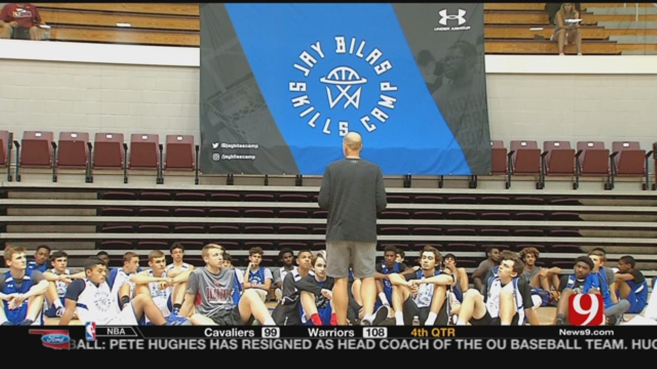 High Schoolers Converge In OKC For Jay Bilas Skills Camp