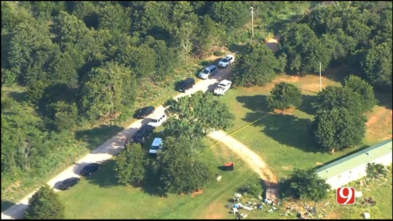 WEB EXTRA: Body Found In Rural McClain County