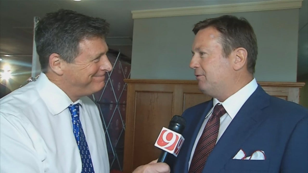 WATCH: Dean Talks With Bob Stoops Following His Retirement Announcment