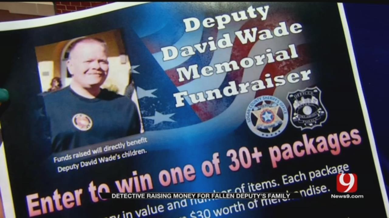 Detective Raising Money For Fallen Deputy's Family