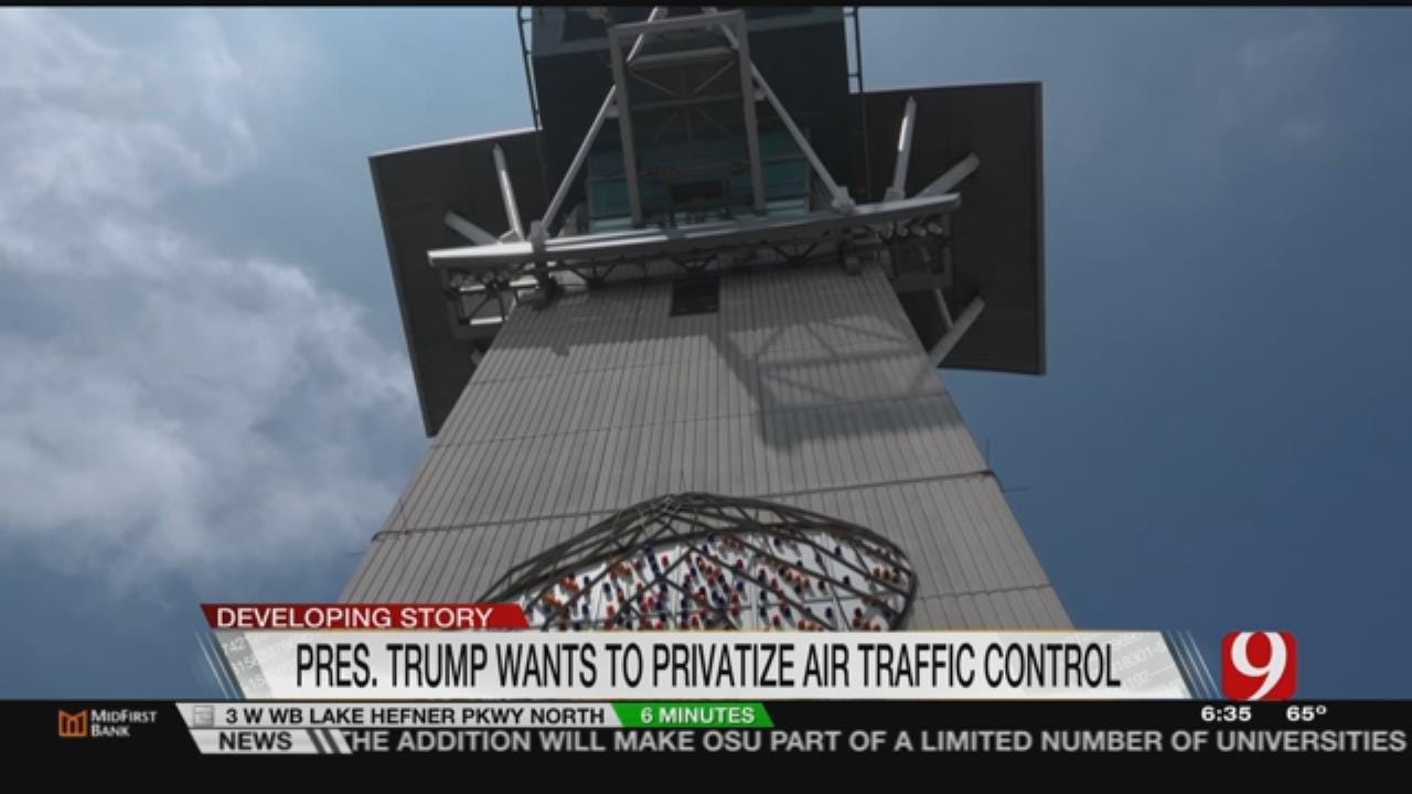 Will Rogers Airport Stable Amid Trump's Call For Privatization Of Air Traffic Control
