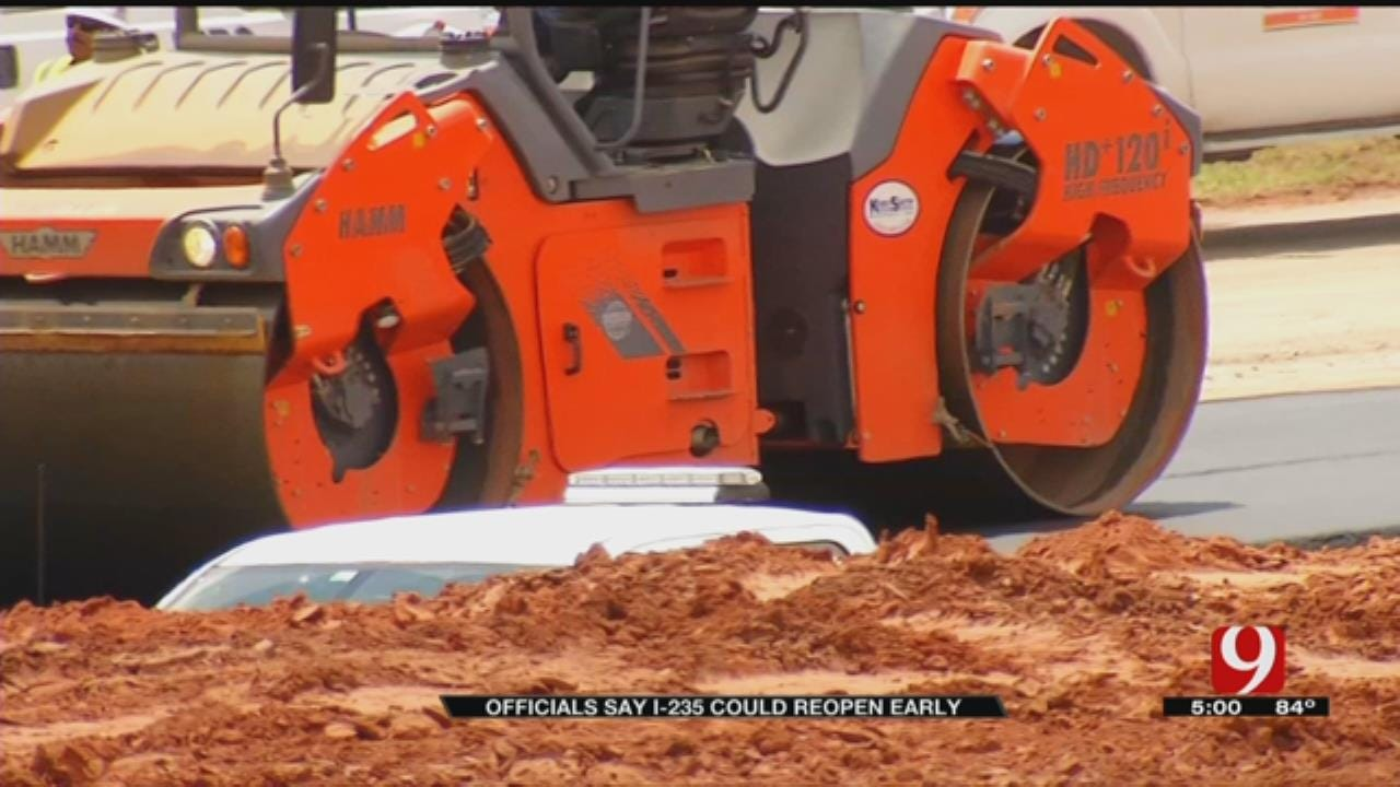 ODOT Says I-235 Is Ahead Of Schedule
