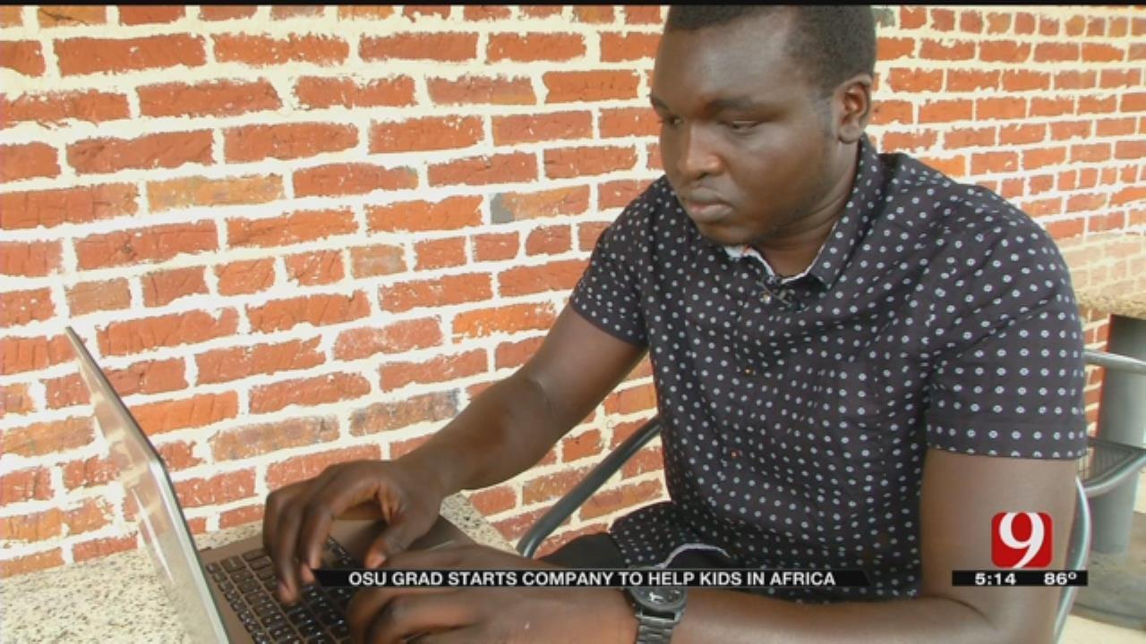 OSU Grad, Born In Sudan, Starts Company To Help Children