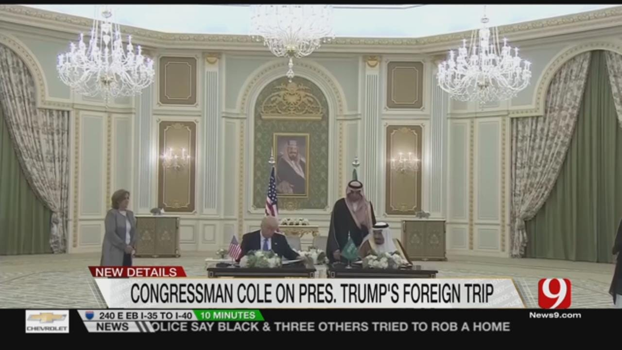 """Trump's First Foreign Trip A Show of """"American Strength"""""""