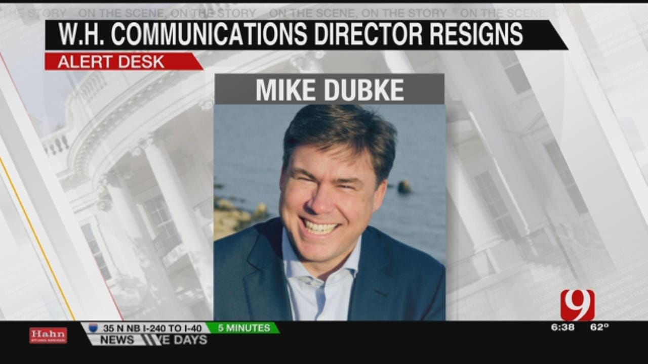 White House Communications Director Mike Dubke Is Out