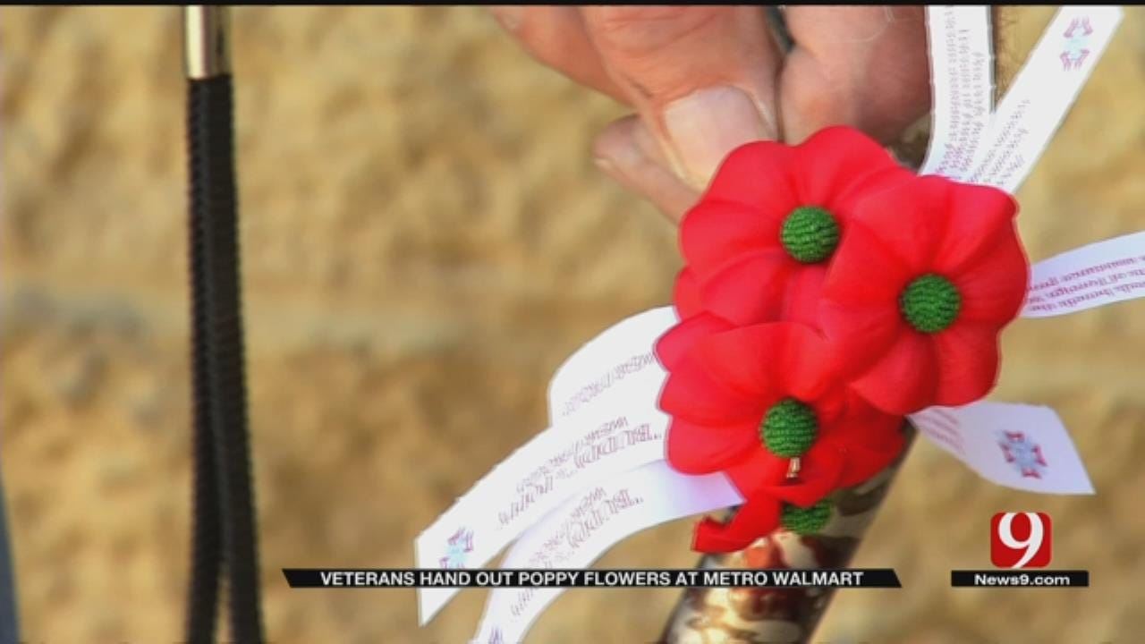 Veterans Give Poppies To Honor Fallen On Memorial Day