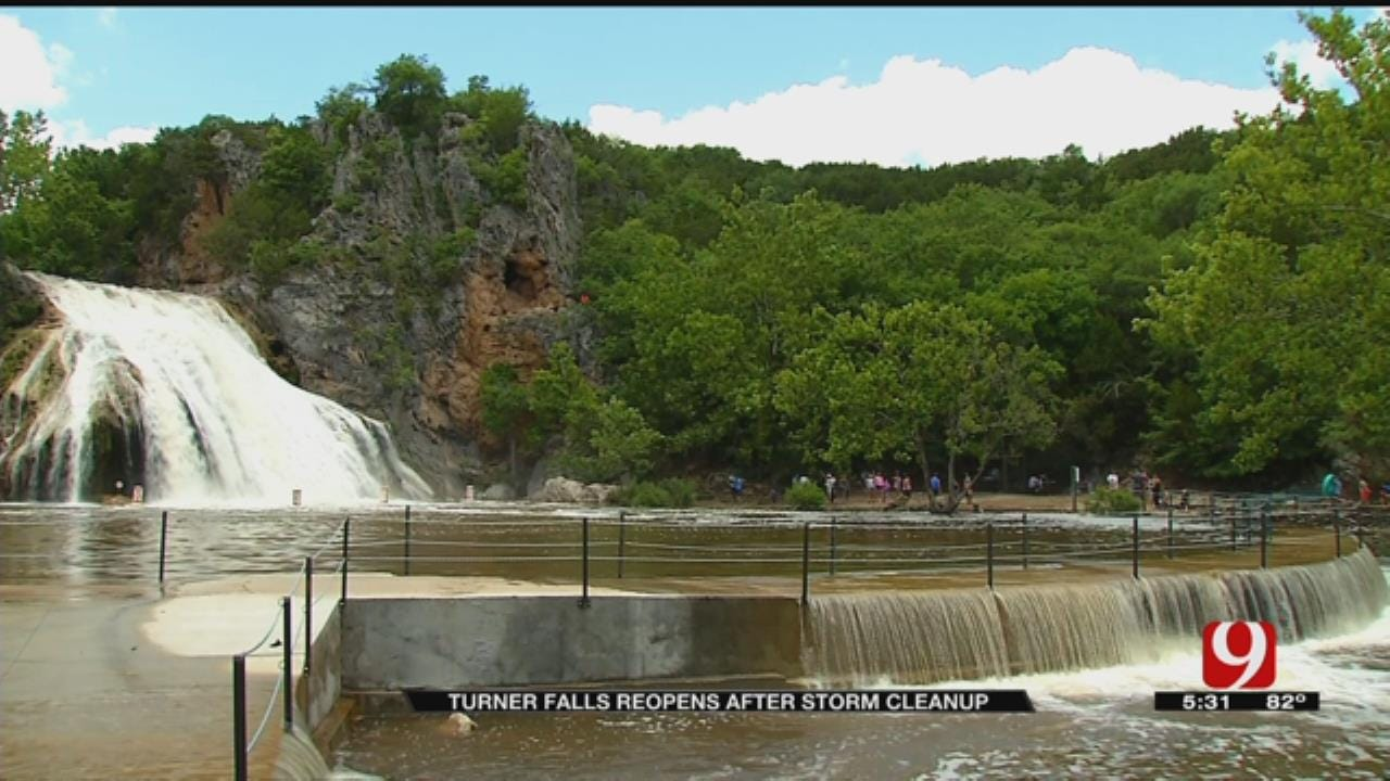Turner Falls Reopens After Campers Ride Out The Storms