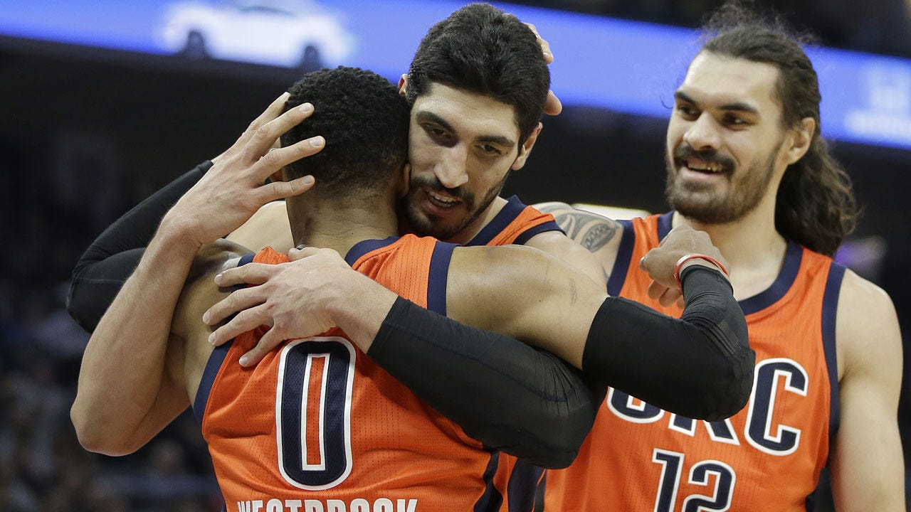 Turkish Authorities Issue Arrest Warrant For Thunder's Enes Kanter