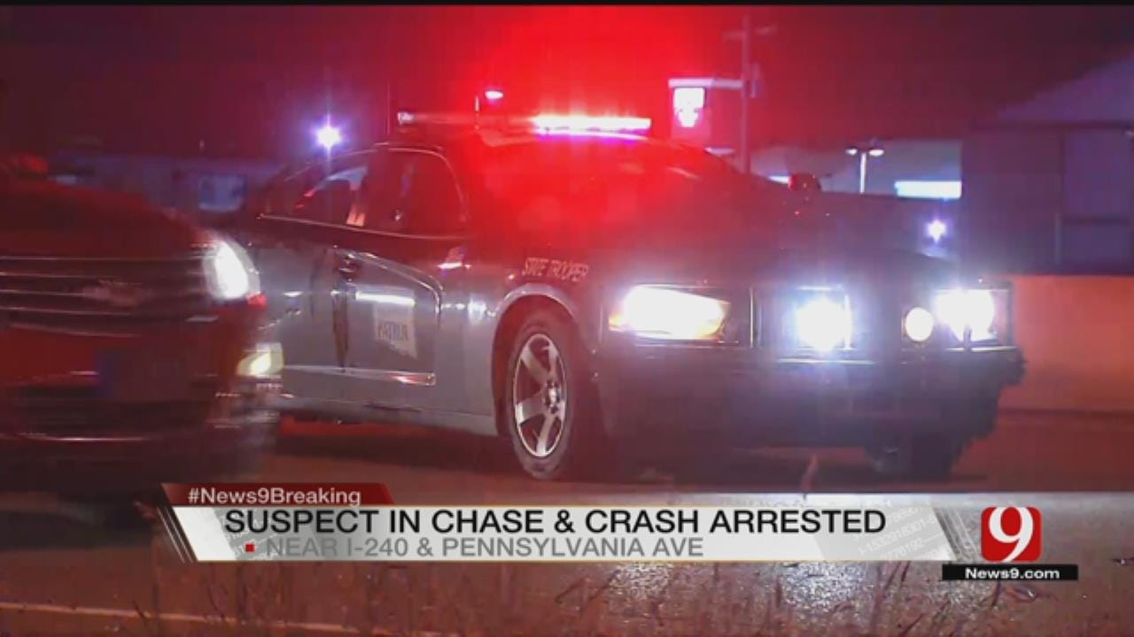 OHP Arrests Suspect After Wrong Way Chase On I-240