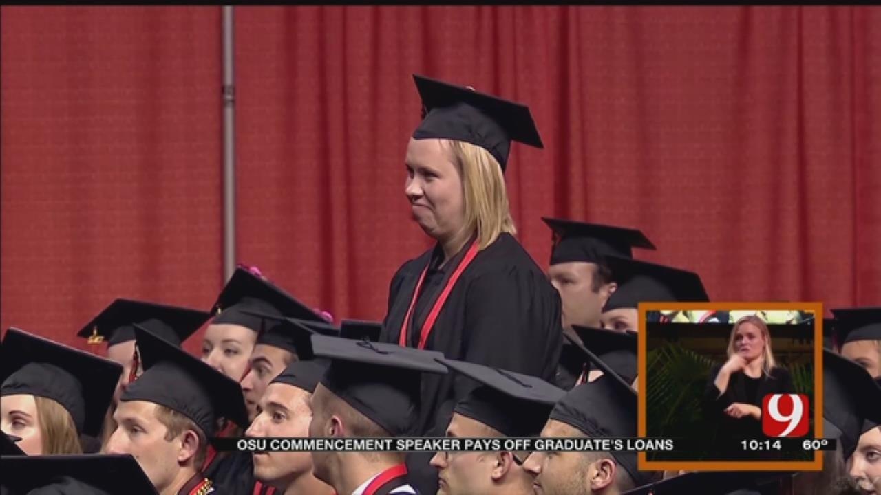 OSU Alum Pays Off Graduate's Student Loans