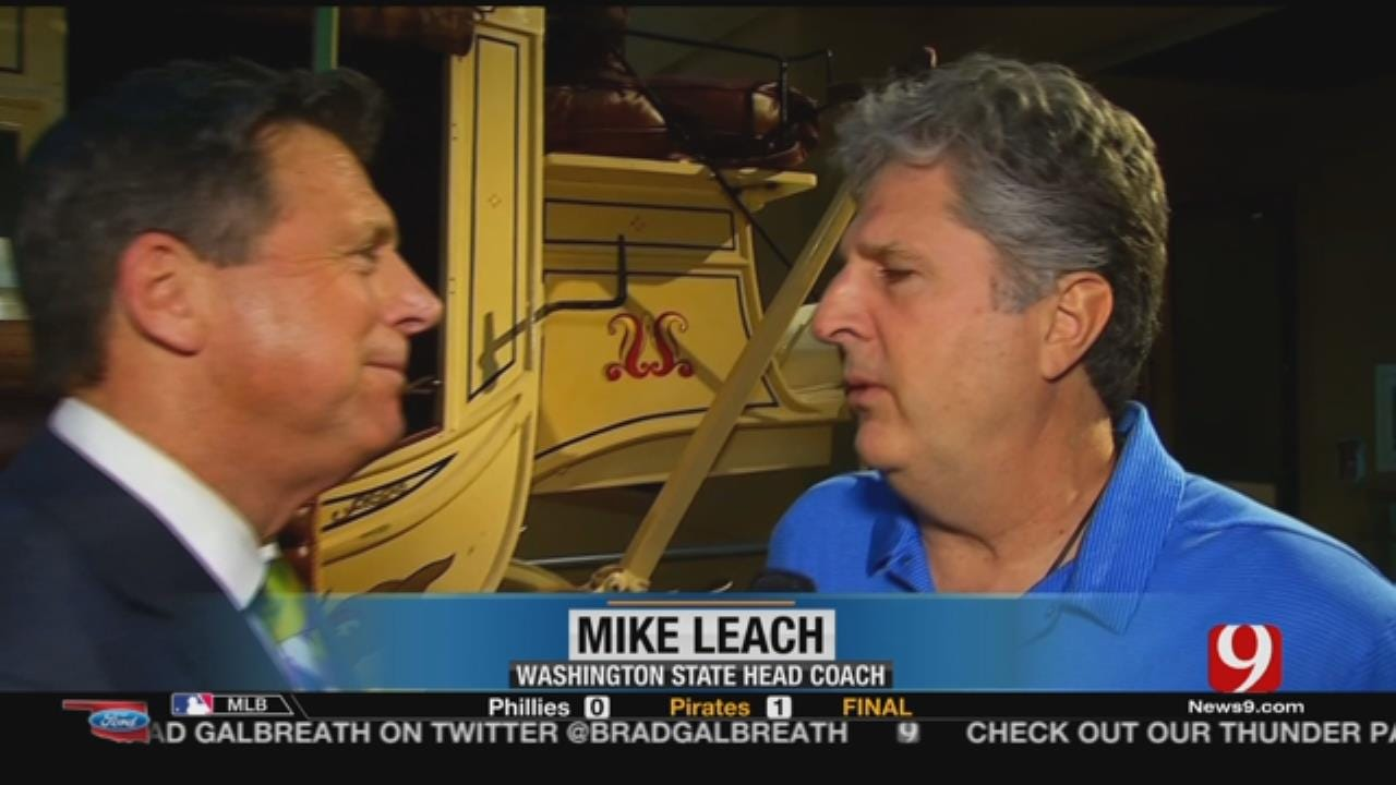 1-On-1 With Mike Leach