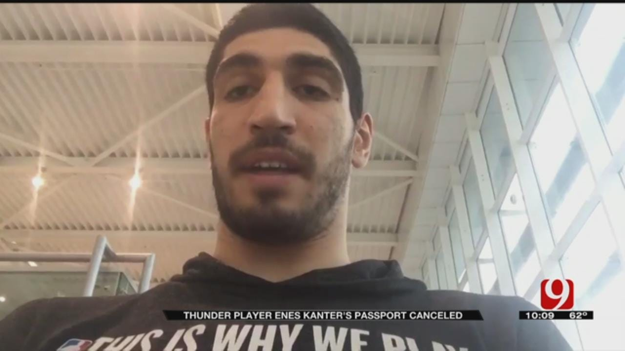 OKC Thunder's Enes Kanter Returning To U.S. After Being Held At Romanian Airport