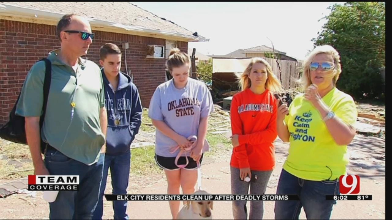 Couple Recalls Taking Cover As Elk City Tornado Tore Through Neighborhood