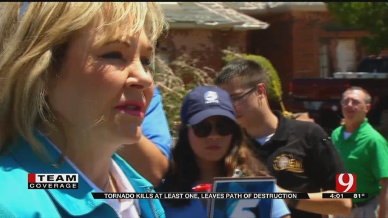 Fallin Talks About Devastation In Elk City