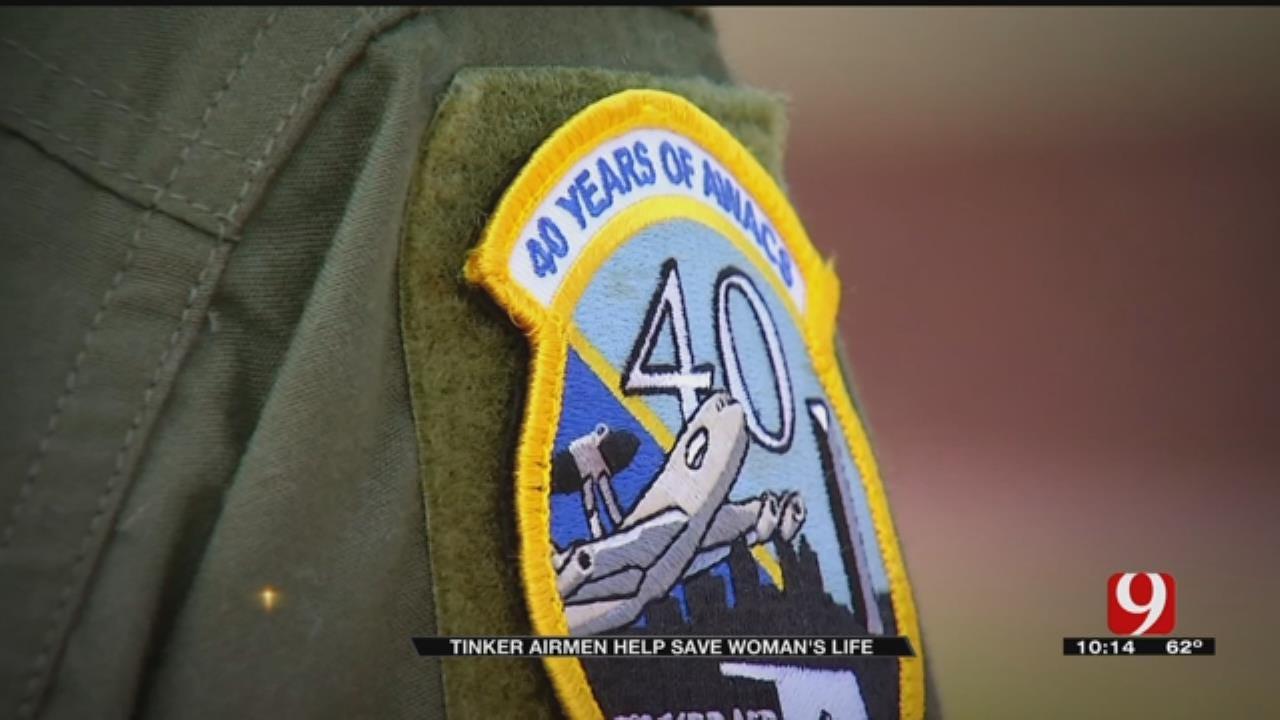 Tinker AFB Airmen Intervene In Woman's Suicide Attempt
