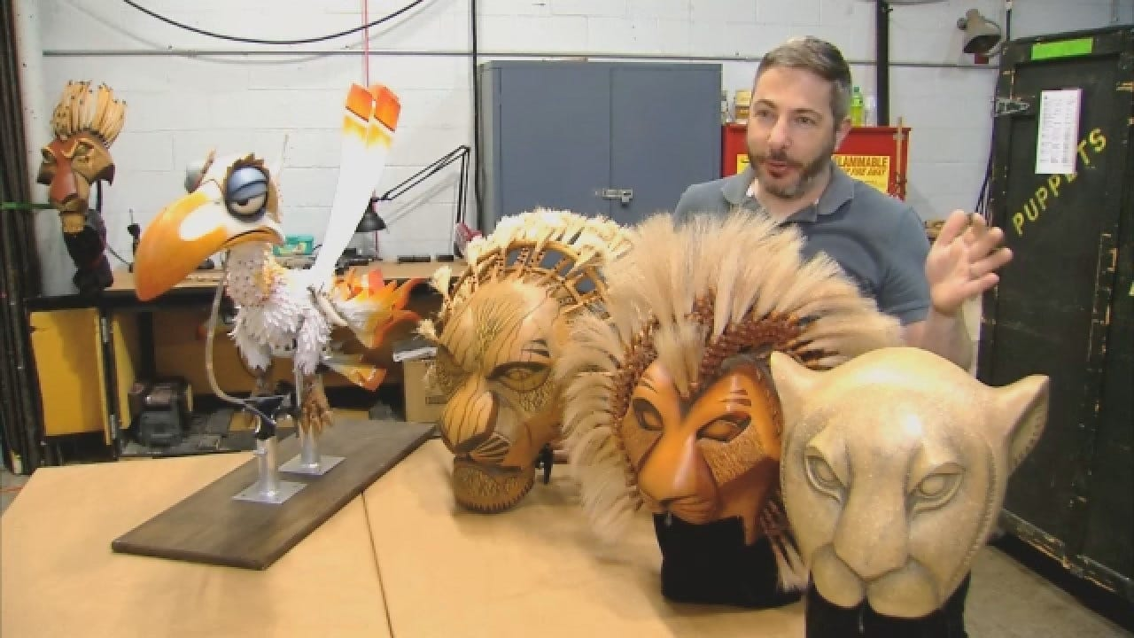 WEB EXTRA: Puppet Master For The Lion King Talks About Show Responsibilities