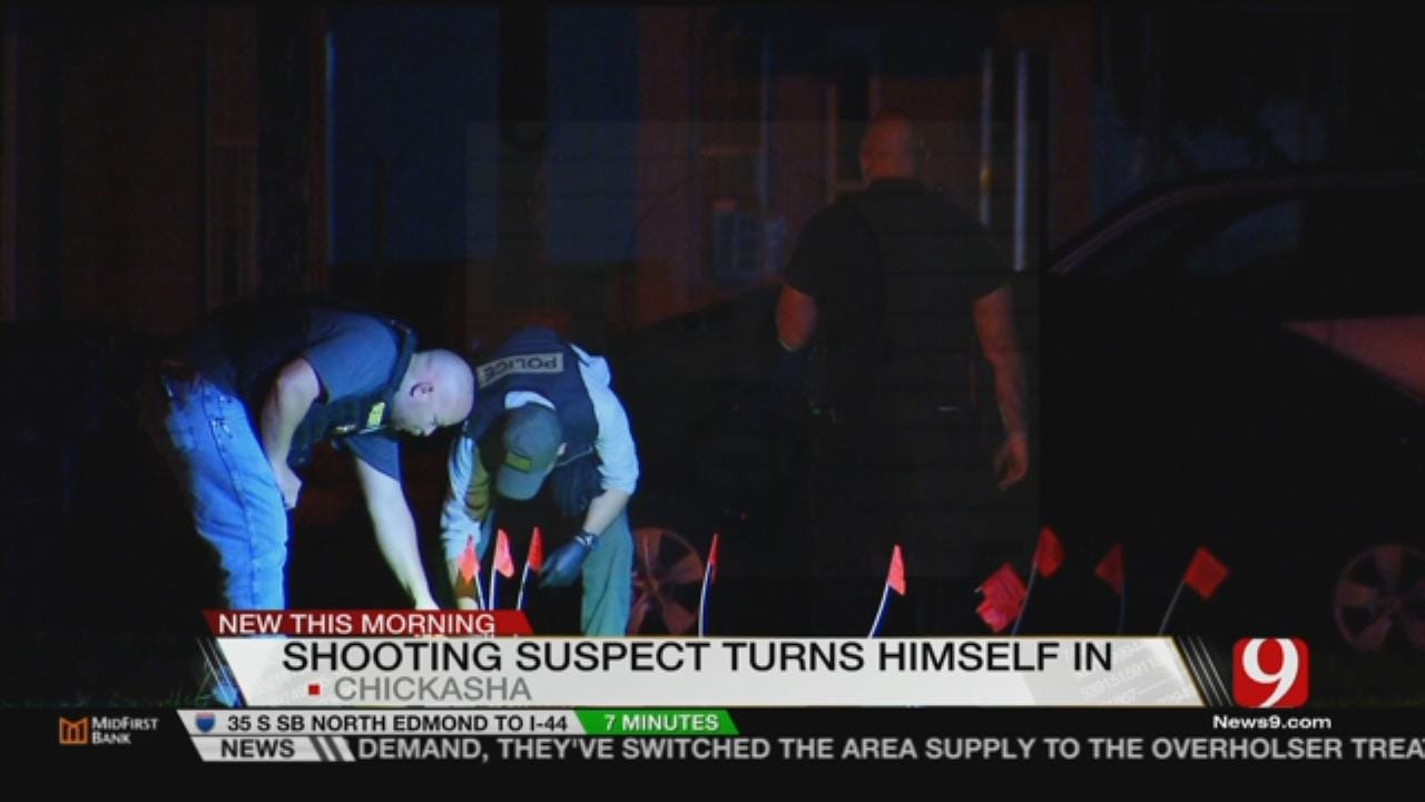 Man Turns Himself In For Last Week's Shooting In Chickasha