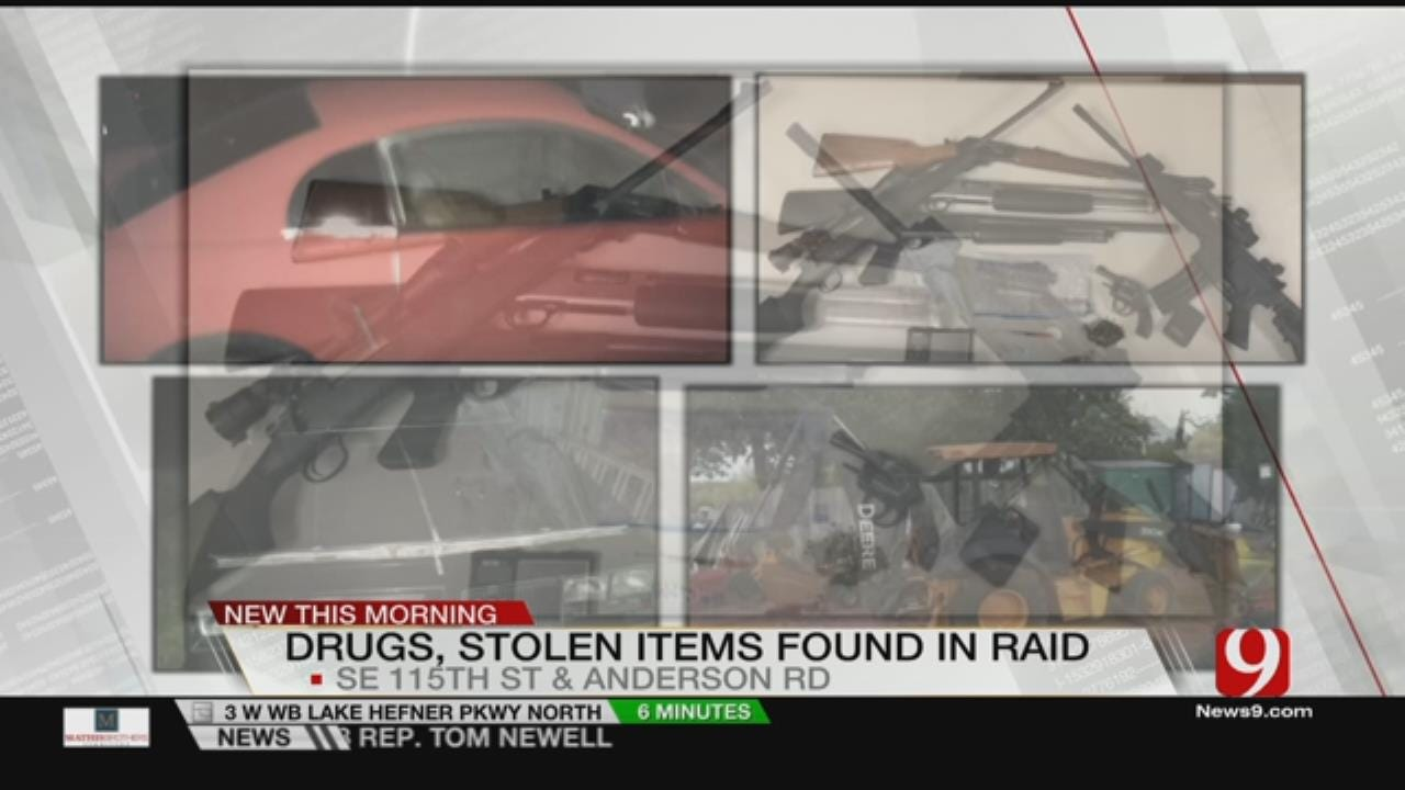 OKCPD Arrests Two After Tip Leads Them To Cache Of Stolen Property